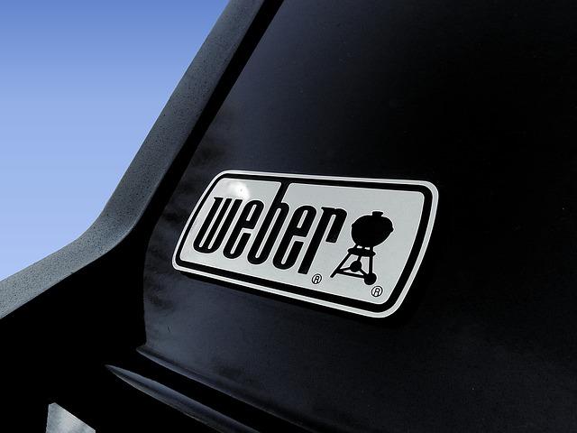 Weber heizt mit Gas